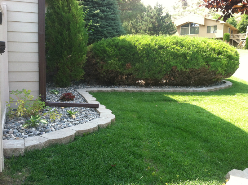 We do more than just mow lawns - we offer landscape design services as well.