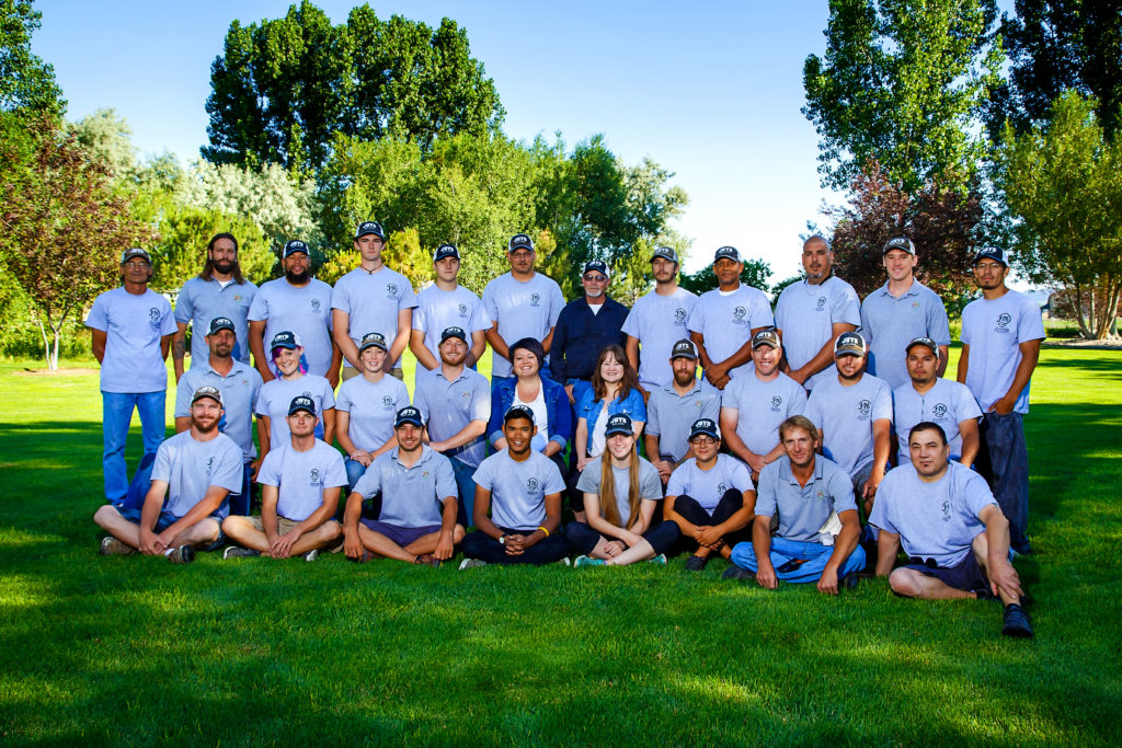 We appreciate the excellent work our staff does for our landscaping and lawn service customers.